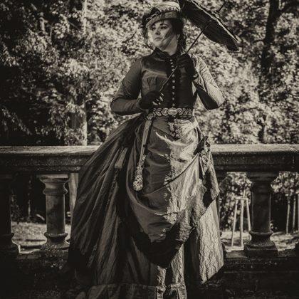 Vycházkové šaty 1888